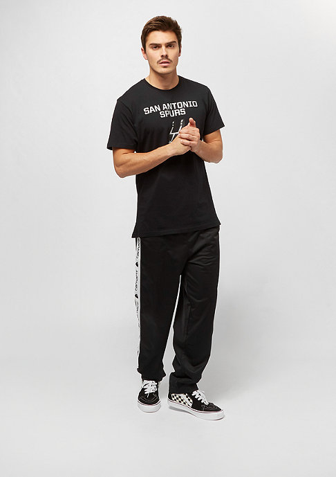 New Era NBA Team Logo Tee San Antonio Spurs black