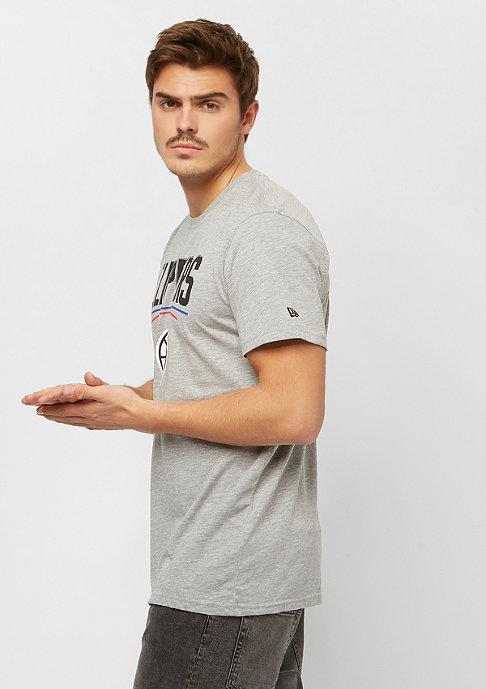 New Era NBA Team Logo Tee Los Angeles Clippers grey