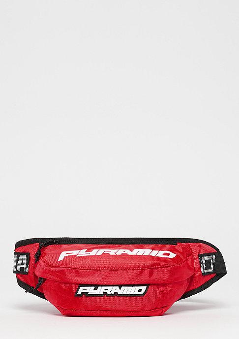 Black Pyramid Waistbag red