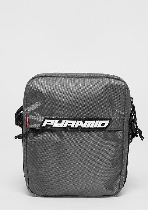 Black Pyramid Shoulder bag grey