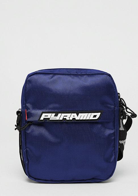 Black Pyramid Shoulder bag blue