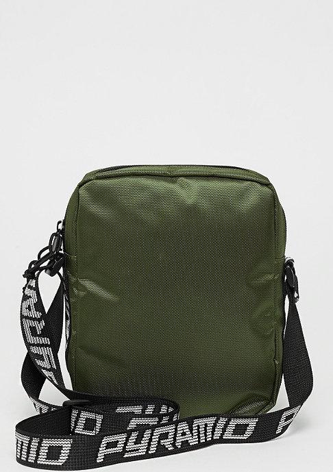 Black Pyramid Shoulder bag olive