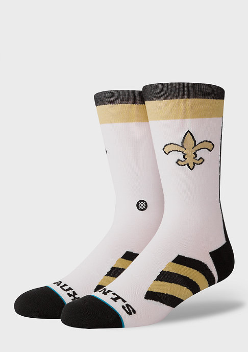 Stance NFL Geaux Saints white