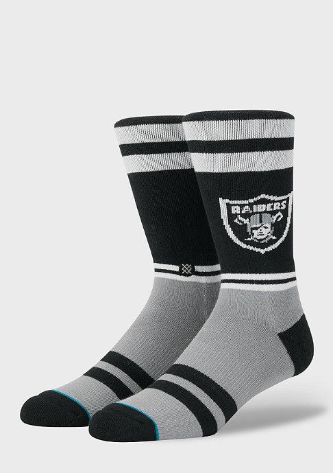 Stance NFL Raiders Logo black