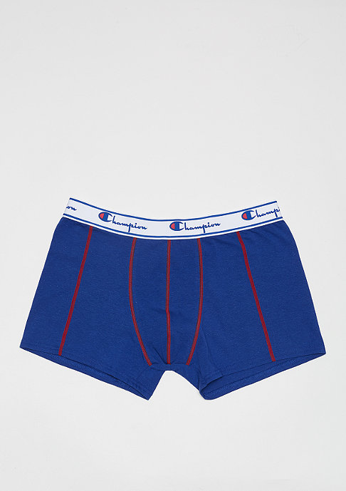 Champion 2x Boxer Champion Mix Red logo print/royal blue