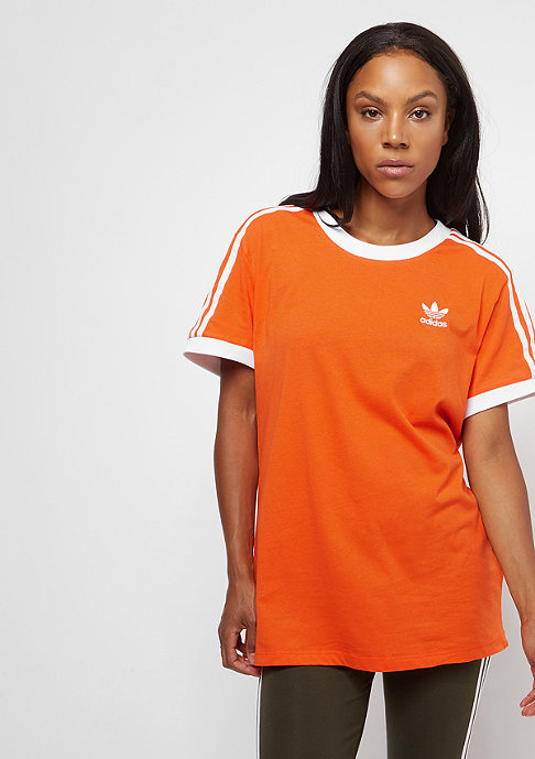 adidas 3 Stripes orange