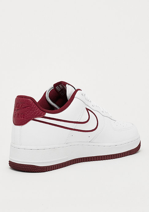 NIKE Air Force 1 '07 Leather white/team red