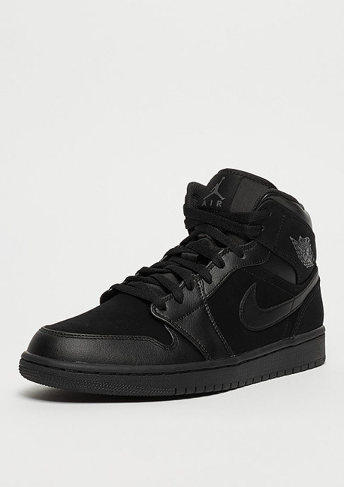 JORDAN Air Jordan 1 Mid black/dark grey/black