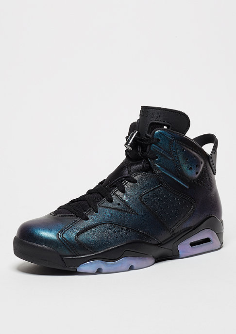 JORDAN Basketballschuh Air Jordan 6 Retro High All Star Gotta Shine black/black/white