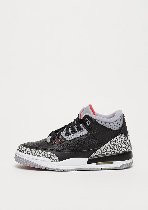 Jordan Air Jordan 3 Retro (BG) Black Cement