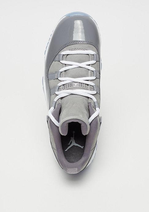 JORDAN Air Jordan 11 Retro Low medium grey//white/gunsmoke