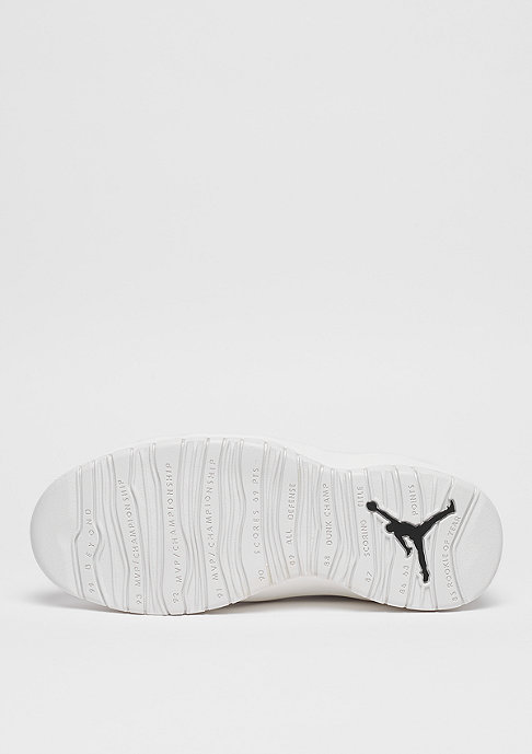 JORDAN Air Jordan Retro X summit white/summit white/black