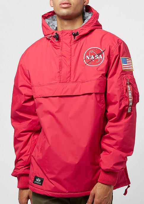 Alpha Industries NASA Anorak speed red