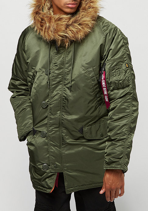 Alpha Industries N3B VF 59 dark green