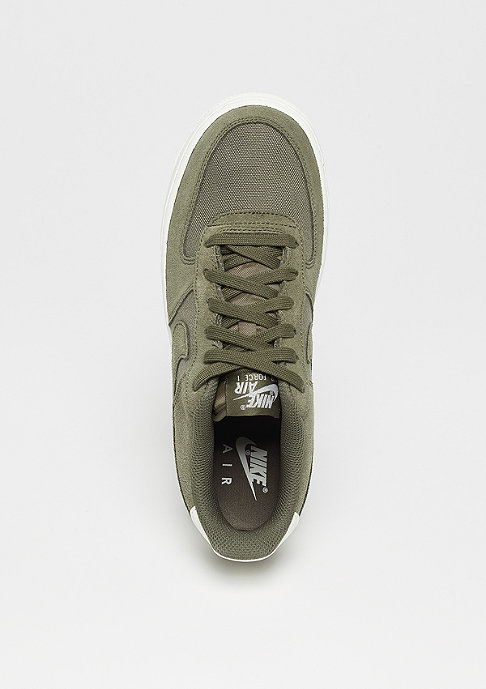 NIKE Air Force 1 Suede (GS) medium olive/medium olive-sail