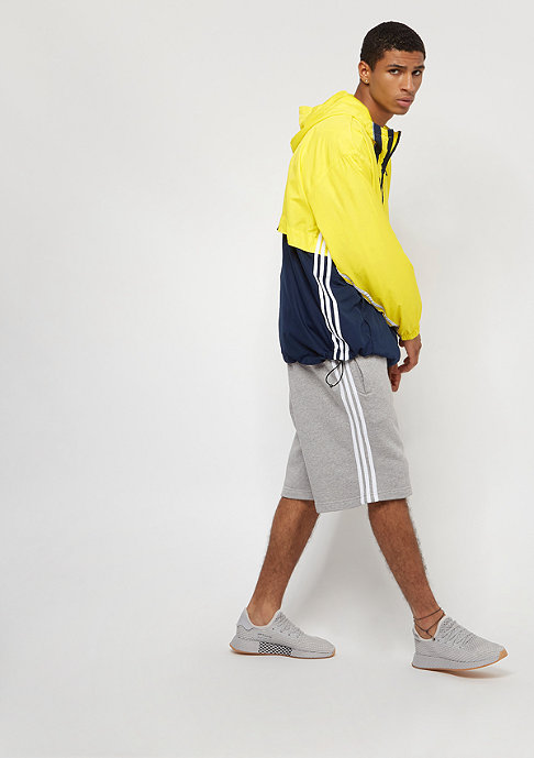 adidas Auth Anorak shock yellow/collegiate navy