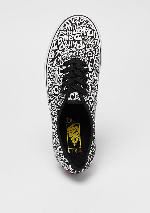 VANS UA Authentic x A Tribe Called Quest tracklist/true white