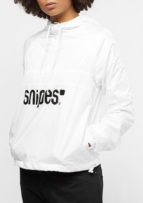 SNIPES Basic Logo Windbreaker white