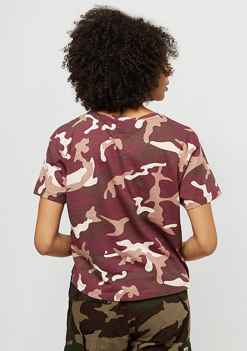 SNIPES Basic Logo rose camo