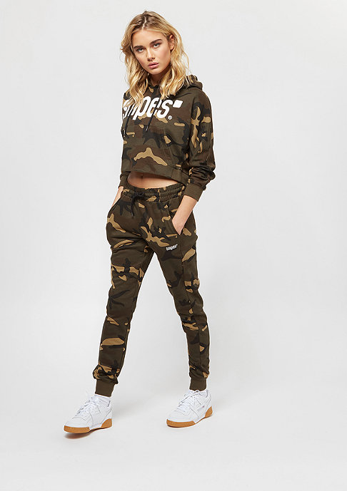 SNIPES Basic Sweatpants camo