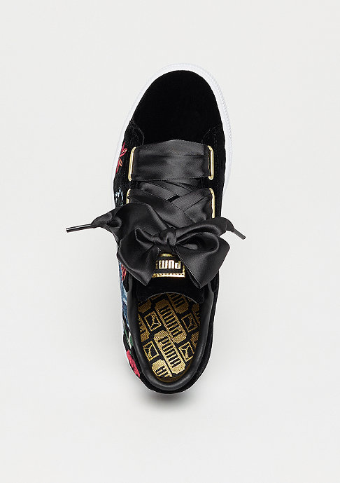 Puma Basket Heart Heyper Emb black