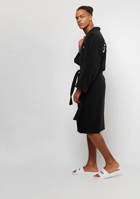 SNIPES Bathrobe black