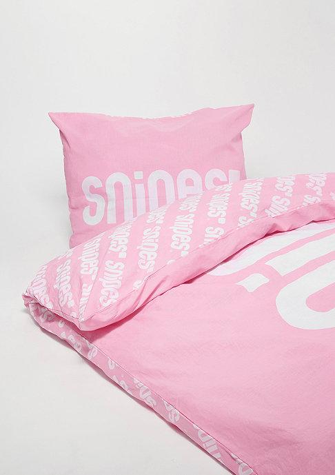 SNIPES Bettwäsche Bedline pink/white