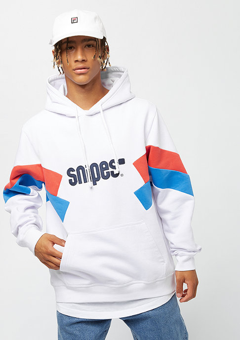 SNIPES Block Basic Logo white/red/blue
