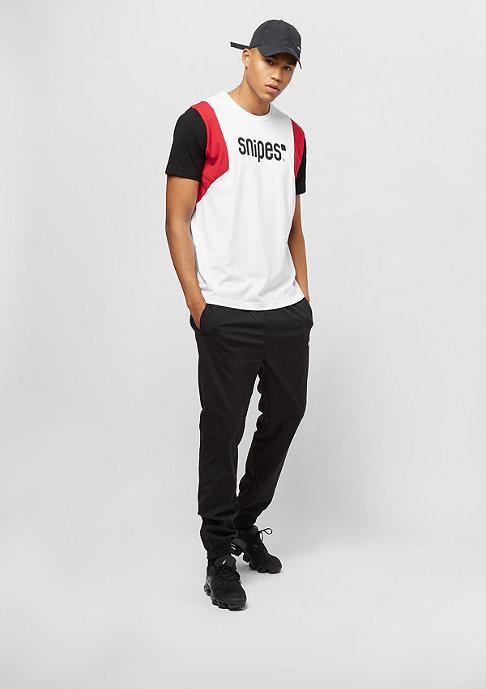 SNIPES Block Basic Logo white/black/red