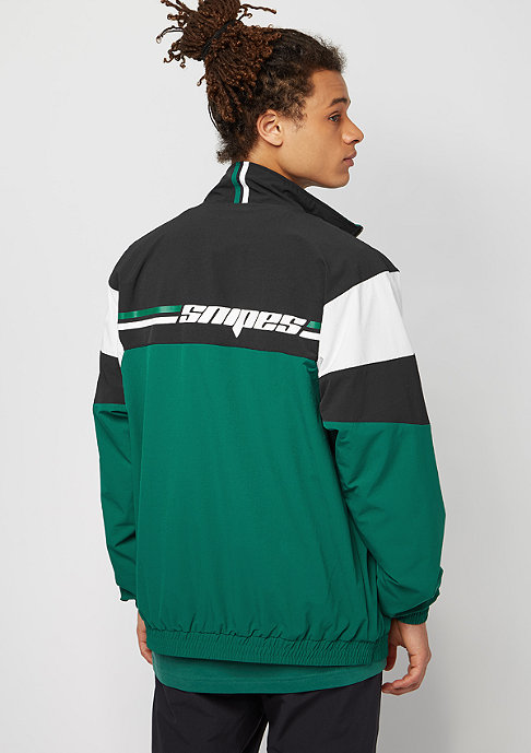 SNIPES Block Chest Logo black/white/evergreen