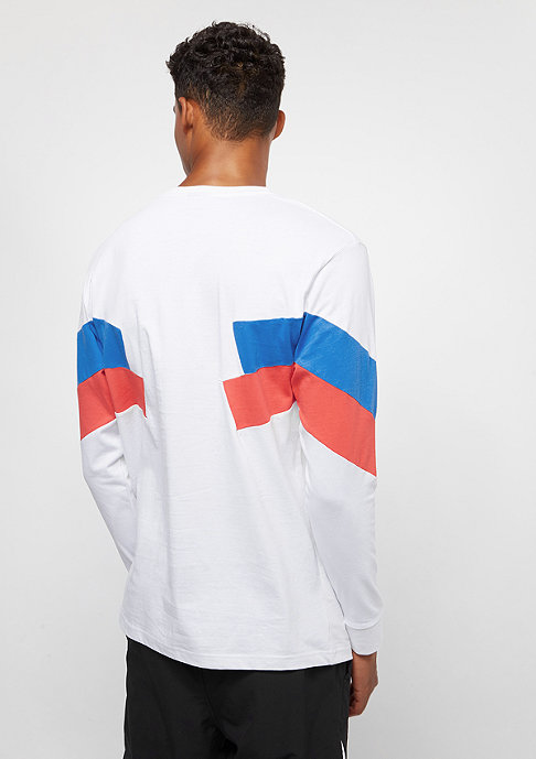 SNIPES Block Small Basic Logo white/red/blue