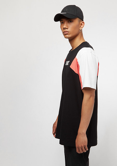 SNIPES Block Small Basic Logo black/white/red