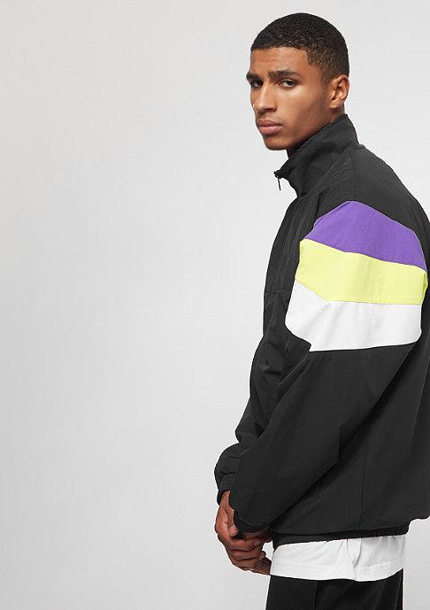 SNIPES Block Windbreaker black/purple/white/lime