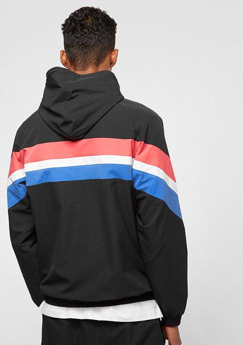 SNIPES Block Windbreaker black/red/white/blue
