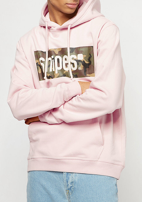SNIPES Box Logo rose/black
