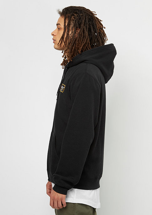 Brixton Hooded-Zipper Palmer Fleece black