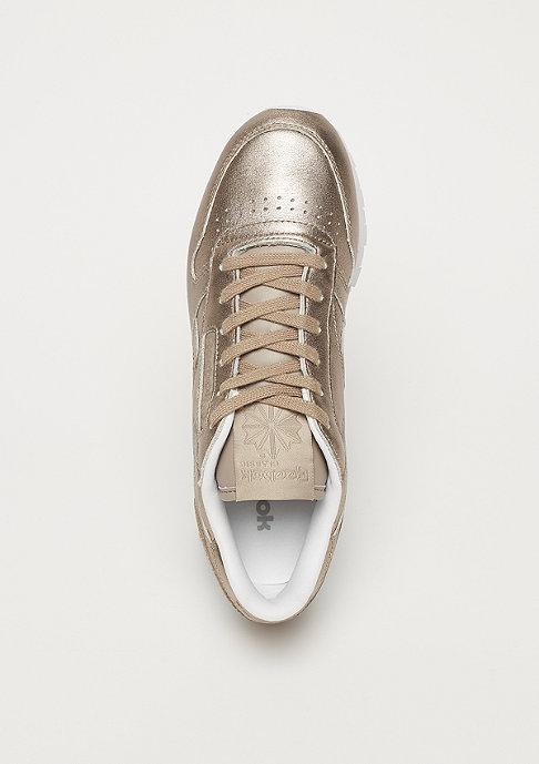 Reebok CL LTHR L pearl met / grey gold / white
