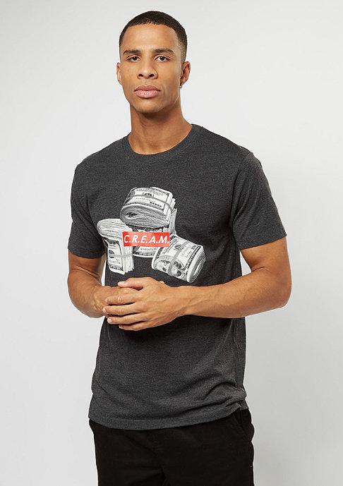Mister Tee T-Shirt C.R.E.A.M. Bundle charcoal