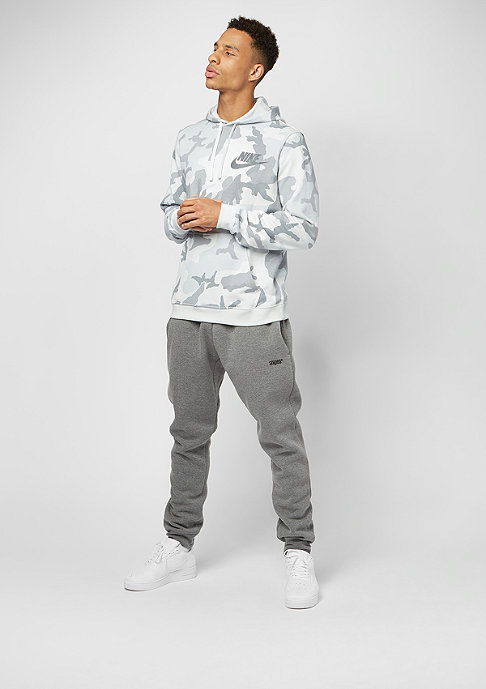 NIKE Camo AOP FLC Club white/off white/dark grey