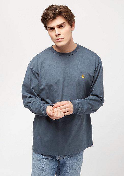 Carhartt WIP Chase stone blue/gold