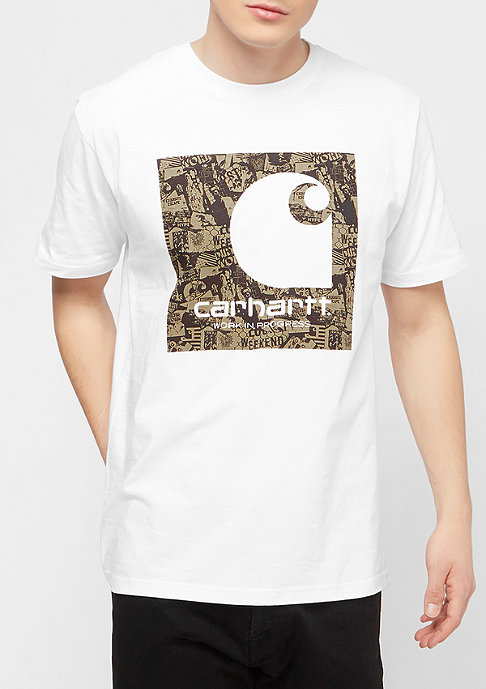 Carhartt WIP Collage white