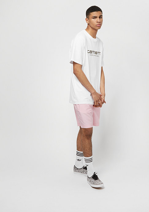 Carhartt WIP Cay Swim sandy rose/white