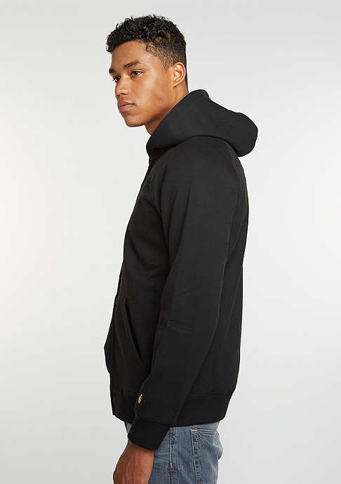 Carhartt WIP Hooded Zipper Chase black