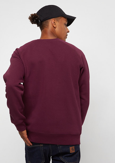Carhartt WIP Chase mulberry
