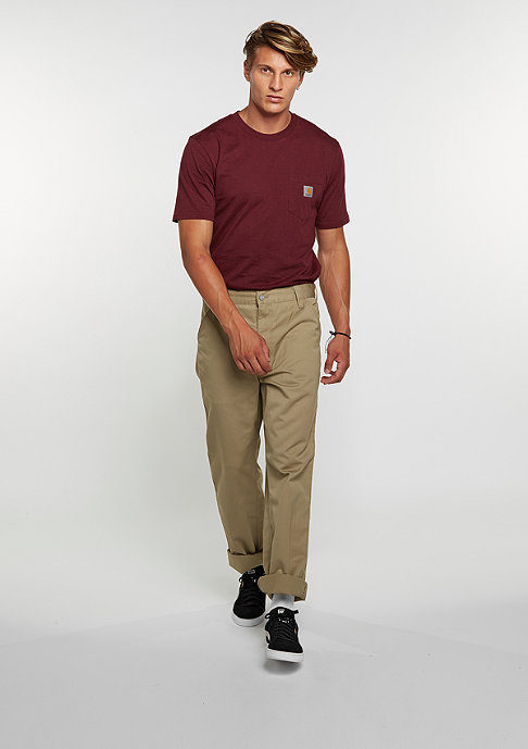 Carhartt WIP Chino Hose Simple leather