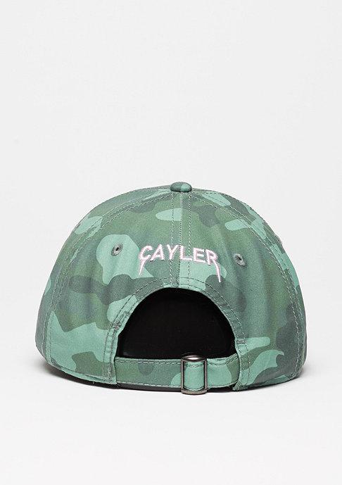 Cayler & Sons Baseball-Cap Partner In Crime Curved woodland/light pink