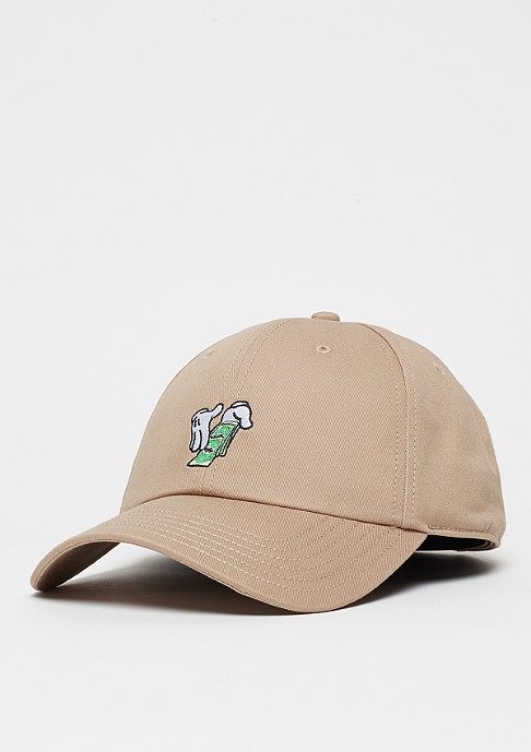 Cayler & Sons WL Curved Cap Make It Rain sand
