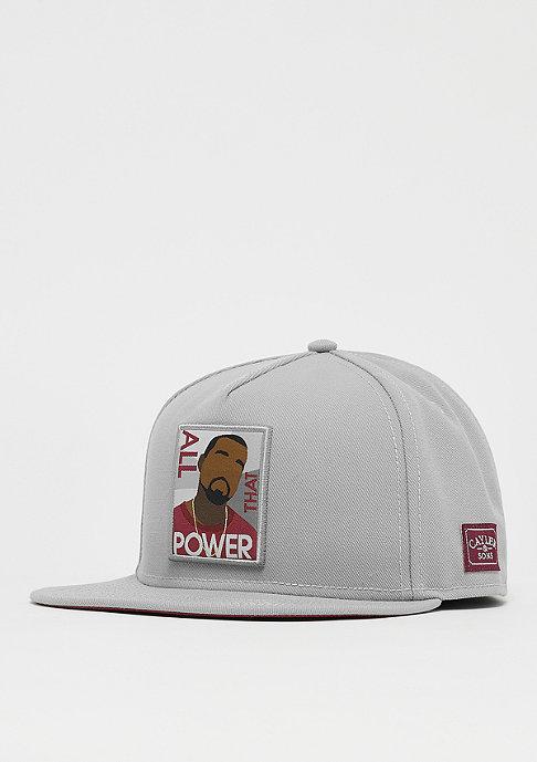 Cayler & Sons WL Power grey/maroon