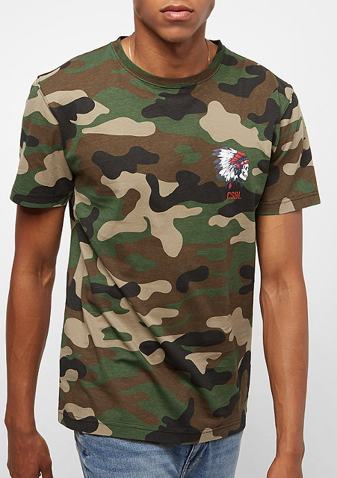 Cayler & Sons BL Freedom Corps Tee woodland/mc