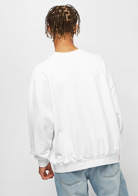 Cheap Monday Goal Sweat Hacker Logo white